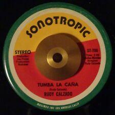 "RUDY CALZADO Tumba La Cana LATIN DESCARGA GUAGUANCO 45 7"" KILLER HEAR"