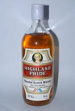 WHISKY HIGHLAND PRIDE BLENDED SCOTCH WHISKIES AÑOS 70 75cl.