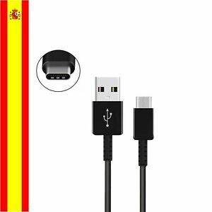 USB C Tipo C cable datos para Huawei Xiaomi Samsung Galaxy Iphone negro