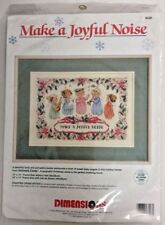 Dimensions Make A Joyful Noise Counted Cross Stitch Kit Angel Choir Christmas US