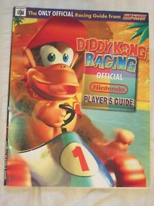 Diddy Kong Racing strategy guide Nintendo N64 acceptable condition