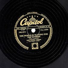LES PAUL MARY FORD 78 The World Is Waiting For The Sunrise Capitol CL13596 EX +