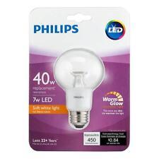 Philips LED 40 Watt Equivalent 7 Watt Dimmable Soft White Light Bulb