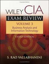 Wiley CIA Exam Review, Business Analysis and Information Technology (Volume 3)