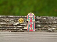 Royal Traditional Colorful Robe Gold Tone Metal & Enamel Lapel Pin Pinback