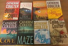 Lot of 23 Catherine Coulter FBI Mystery Thriller MIX Popular Hardcover Books