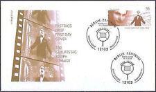 RFA 2004: JOSEPH Schmidt! FDC Nº 2390 avec de Berlin ersttags spécial étançons! 1801