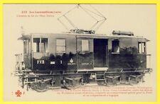 cpa CHEMIN de FER de l' Etat ITALIEN Locomotive élèctrique à Trolley Régie POSTE