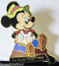 Disney Mickey Mouse Through the Years Filmstrip The Simple Things 1953 Pin