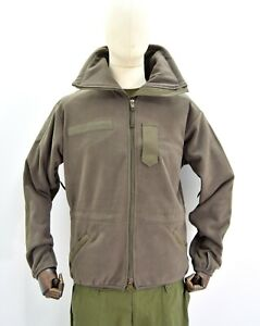 Genuine Austrian Army Cold Weather Fleece Alpine Windproof Jacket Military Issue