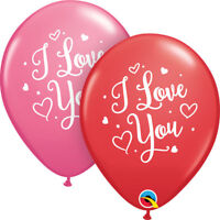 Party Supplies Valentines Day Wedding I Love You Script Latex Balloons Pk10