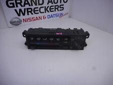 Nissan NX Coupe B13 Heater/AC Controls