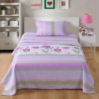 Bed Sheets for Kids Girls Boys Teens Children Beds Set, A14 Sheet