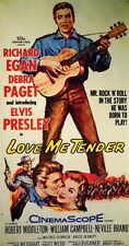 LOVE ME TENDER Movie POSTER 11x17 Elvis Presley Richard Egan Debra Paget Robert