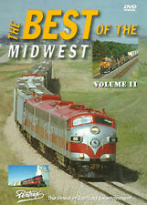 Best of the Midwest Vol 2 DVD Pentrex UP C&NW BNSF CP SOO SD40-2Fs AC4400s NEW