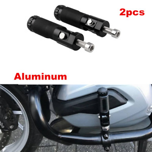 2pcs Universal Motorcycle ATV Scooter Footrests Footpeg Foot Pedals Pegs Pedals