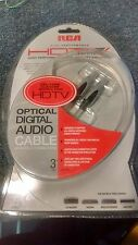RCA HDTV Optical Digital Audio Cable 3ft