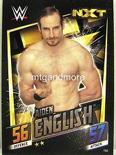 Wwe Slam Attax 12 Universe Carte 59-Aiden English-Smackdown Life