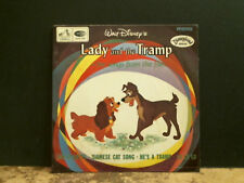 """LADY AND THE TRAMP  Songs From The Film   7""""  EP    Disney  Peggy Lee UK mono"""