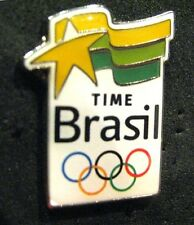 SOCHI 2014 Olympic BRAZIL Delegation team  pin