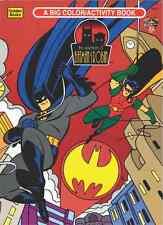 VINTAGE 1995 BATMAN BIG COLOR ACTIVITY BOOK BY GOLDEN