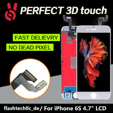 "Weiß LCD Display für iPhone 6s 4.7"" RETINA Touchscreen Digitizer Bildschirm"