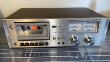 Sanyo Rd 5030 Stereo Cassette Tape Deck Dolby Player Recorder Made Japan Vintage