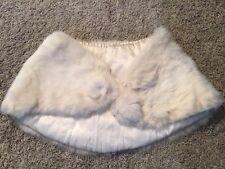 White Rabbit Fur Shawl