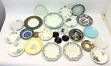 Mixed Lot Unusual China Porcelain Saucers Plates Noritake Japan Gladstone