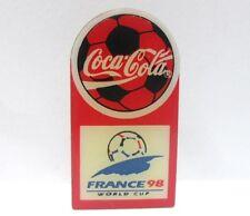 Coca-Cola - FRANCE '98, WORLD '98 - PINS attacco bottone a innesto