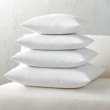Euro Square Pillow Insert FEATHER / DOWN - ALL SIZES!! Made in USA