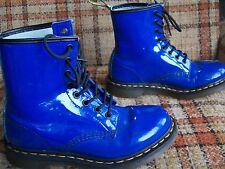 Doc Martens Womens Size 8 (UK 6) EU 39 Blue 8-Eye Boots 11821
