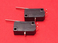 2 Pcs Micro Switch V7-2B17P NC NO 10A 125V 250VAC Momentary Lever SPDT Limit T