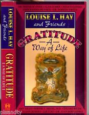 LOUISE L. HAY And Friends GRATITUDE A Way Of Life (PB; 1997) POSITIVE THINKING
