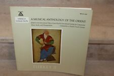 Lp  A musical anthology of the orient turkey II (BM 30 L 2020)