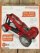 VEX HEXBUG Racer Build Kit Single Gear Pull Back Robotics Kinetic Energy Speed