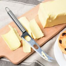 Home Cake Bread Butter Cheese Knife 3-Hole Stainless Steel Pizza Cutter