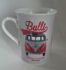 VW Bulli Splity Campervan Mug Official Volkswagen Classic Retro Licensed Logo