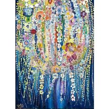 5D DIY Diamond Painting Abstract Weeping Willow Cross Stitch Kit Home Decor Gift