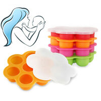 EE_ New Silicone Wean Meister Freezer Pods Baby Food Freezer Tray BPA Free Eyefu
