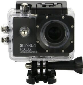 SILVERLABEL FOCUS 4k ACTION CAM WATERPROOF ACTION cycle safety CAMERA