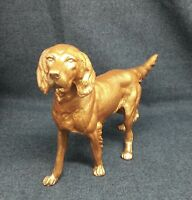 Antique figure of a hunting dog