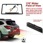 Car Rear View Backup Camera 8 IR Night Vision License Frame Plate Waterproof