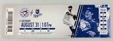 MLB 2013 08/30 Kansas City Royals at Toronto Blue Jays Ticket-R.A. Dickey WP