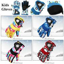 Winter Handschuhe Kinder Skihandschuhe Snowboard Vollfinger Fahrradhandschuhe