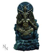 Pagan Baphomet-Reflux Encens Brûleur figurine occulte 2x bouteilles de cônes