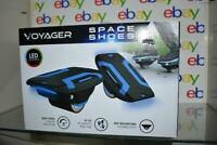 Voyager Space Shoes Hover Skates 6 MPH Electric Led Lights Hoverboard NIB