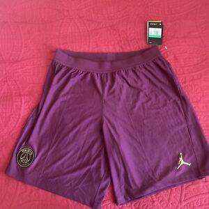 Nike Air Jordan Men's PSG Vaporknit Paris Saint-Germain Shorts SZ XL Ck7657-610