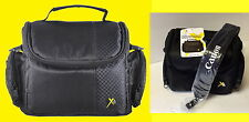 XIT CAMERA BAG CASE+SHOULDER STRAP -> CANON 80D 5D 7D 60D 20D 500D AX-500 SX520