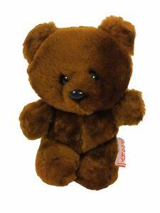 "Vintage 1983 Dakin Garfield Pooky Tiny Teddy Bear Plush Stuffed Animal 5"" Brown"